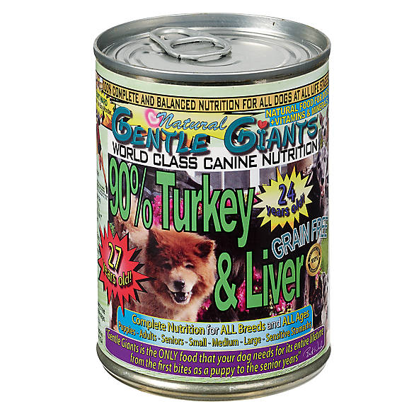 Gentle Giants Canned Dog Food