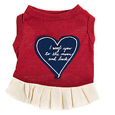 ED Ellen DeGeneres Heart Dog Dress