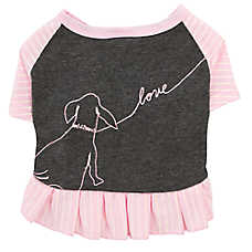 "ED Ellen DeGeneres ""Love"" Dog Dress"