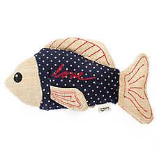 """ED Ellen DeGeneres """"Love"""" Fish Cat Toy"""