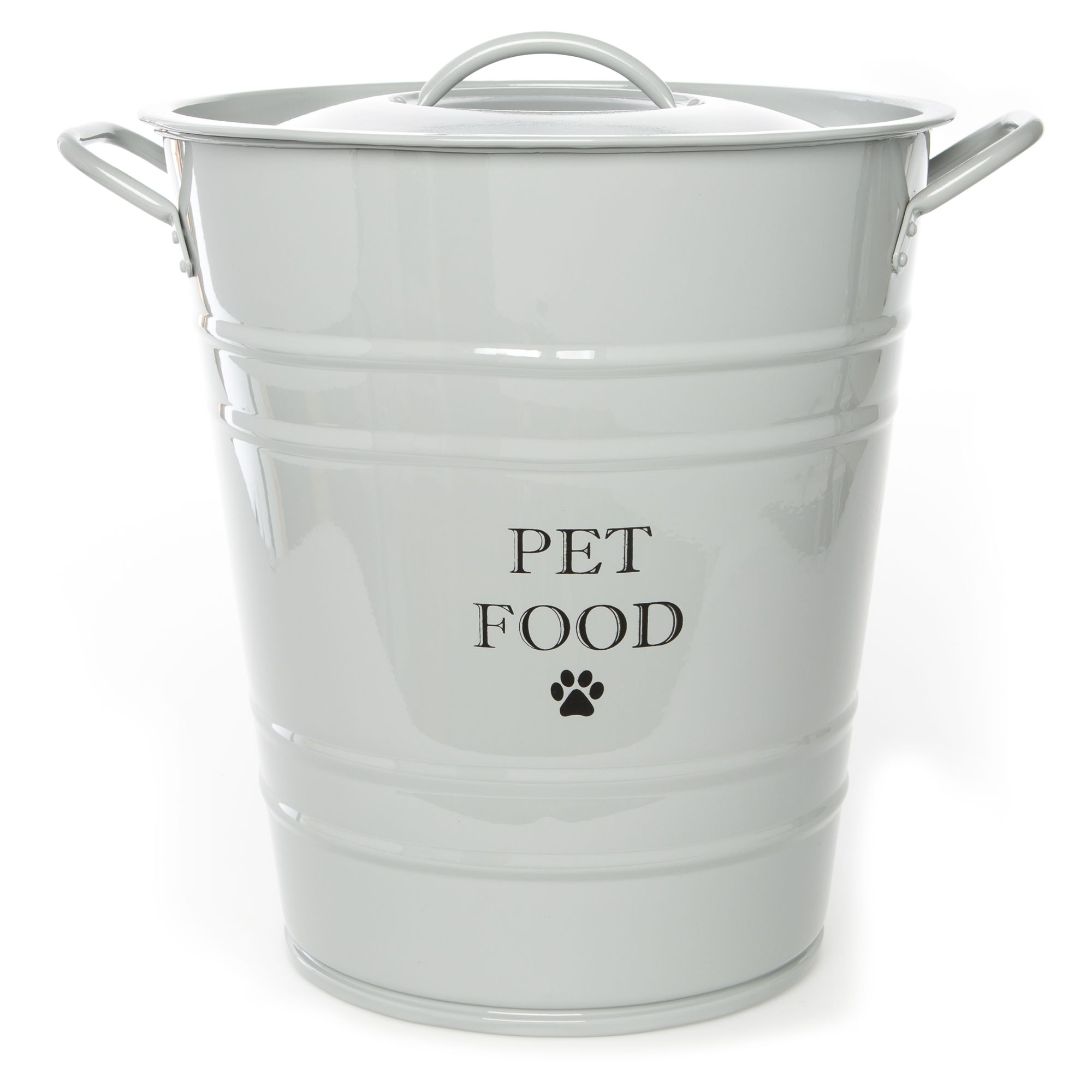 Large Decorative Dog Food Storage Containers