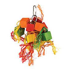 All Living Things® Block Bird Toy