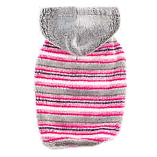 Top Paw® Striped Fleece Pet Hoodie