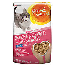 Good Natured™ Adult Cat Food - Natural, Salmon & Barley