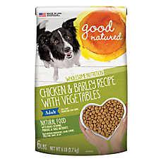 Good Natured™ Adult Dog Food - Natural, Chicken & Barley