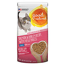 Good Natured™ Adult Cat Food - Natural, Salmon & Barley