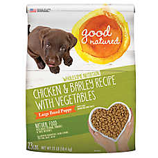 Good Natured™ Large Breed Puppy Food - Natural, Chicken & Barley