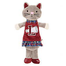 ED Ellen DeGeneres Cat Flattie Dog Toy - Crinkle