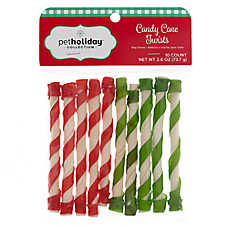 "Pet Holiday™ Candy Cane Twists 5"" Dog Treat"