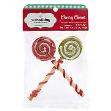 Pet Holiday™ Cheery Chews Pinwheel Lillipop Dog Treat