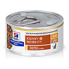 Hill's® Prescription Diet® k/d + Mobility Cat Food - Chicken & Vegetable Stew