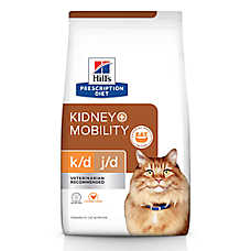 Hill's® Prescription Diet® k/d + Mobility Cat Food - Chicken