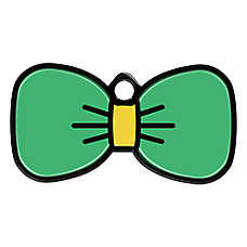 Petfetch Smart Pet Tag Bow Tie