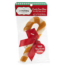 Pet Holiday™ Candy Cane Chew Dog Treat - Sweet Potato