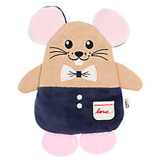 ED Ellen DeGeneres Mouse Flattie Dog Toy - Crinkle