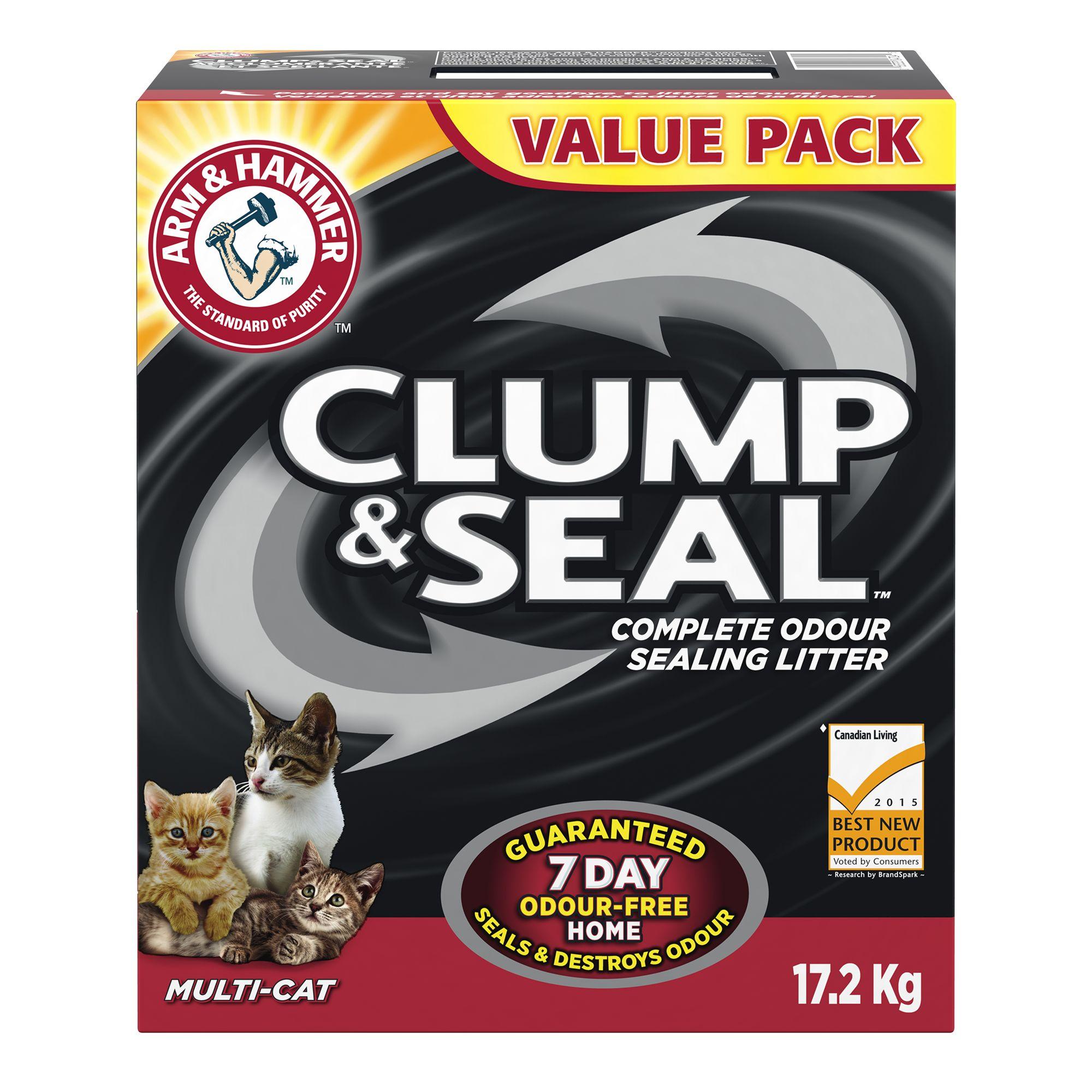 Arm & Hammer Clump & Seal Cat Litter - Clumping, Multi-Cat