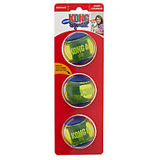 KONG® Squeezz™ Action Ball Dog Toys - 3 Pack