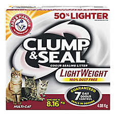 ARM & HAMMER™ Clump & Seal Lightweight Cat Litter - Clumping, Multi Cat