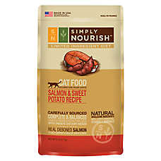 Simply Nourish™ Limited Ingredient Diet Cat Food - Natural, Salmon & Sweet Potato