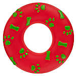 Pet Holiday™ Wreath Dog Toy - Squeaker