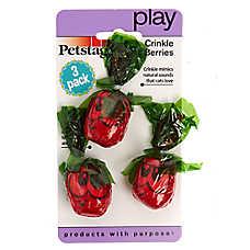 Petstages® Crinkle Berries Cat Toys - 3 Pack