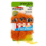 Petstages® Fish Sticks Cat Toys - 3 Pack