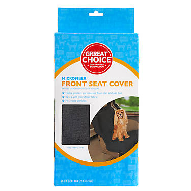 Grreat Choice® Microfiber Front Car Seat Cover | dog ...