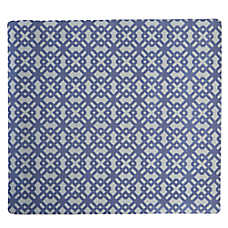 Whisker City® Geometric Microfiber Litter Mat