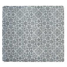 Whisker City® Floral Microfiber Litter Mat