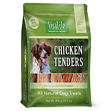 VitaLife Chicken Tenders Dog Treat - Natural