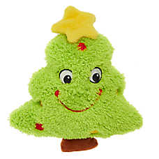 Pet Holiday™ Tree Dog Toy - Plush, Squeaker