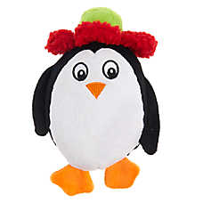 Pet Holiday™ Penguin Dog Toy - Plush, Squeaker