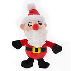 Pet Holiday™ Santa Dog Toy - Plush, Squeaker