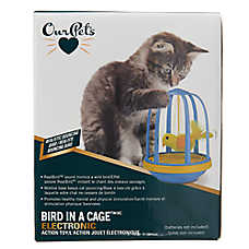 OurPets® Bird in a Cage™ Electronic Cat Toy
