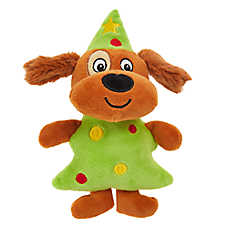 Pet Holiday™ Dog Tree Dog Toy - Plush, Squeaker