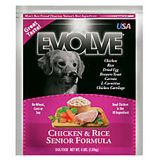Evolve® Senior Dog Food - Chicken & Rice