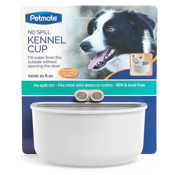 Petmate® No Spill Kennel Cup | dog Automatic Feeders ...