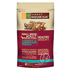 Simply Nourish™ Healthy Weight Small Breed Dog Food - Natural, Turkey & Brown Rice