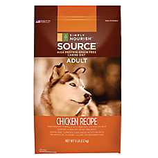 Simply Nourish™ Source Adult Dog Food - Natural, Grain Free, Chicken Recipe