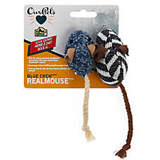 OurPets® Blue Crew™ RealMouse® Cat Toys