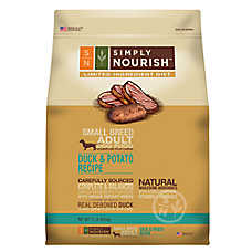 Simply Nourish™ Limited Ingredient Diet Small Breed Dog Food - Natural, Duck & Potato