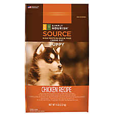 Simply Nourish™ SOURCE Puppy Food - Natural, Grain Free, Chicken