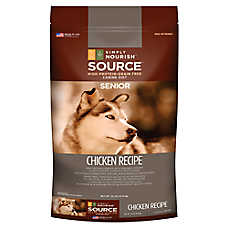 Simply Nourish™ Source Senior Dog Food - Natural, Grain Free, Chicken Recipe