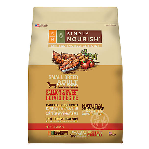 Simply Nourish Limited Ingredient Diet Small Breed Dog