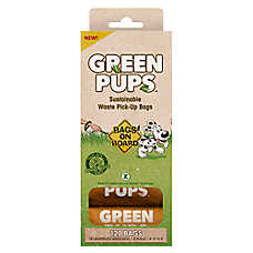 Bags on Board® Green Pups™ Waste Pick-Up Refill Bags