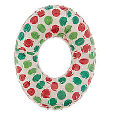 Pet Holiday™ Ring Dog Toy - Squeaker