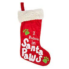Pet Holiday™ Santa Paws Pet Stocking
