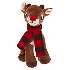 Rudolph® Holiday Dog Toy - Plush, Squeaker