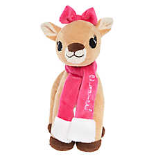 Rudolph® Holiday Clarice Dog Toy - Plush, Squeaker