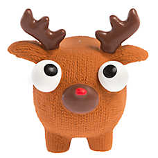 Pet Holiday™ Reindeer Dog Toy - Squeaker